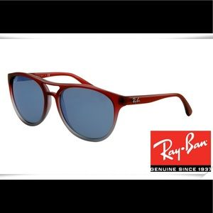 Ray-Ban Red and Blue Sunglasses
